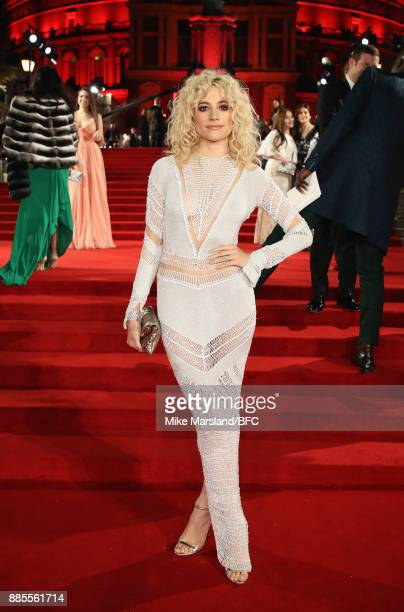 Pixie Lott attends The Fashion Awards 2017 in partnership with Swarovski at Royal Albert Hall on December 4 2017 in London England