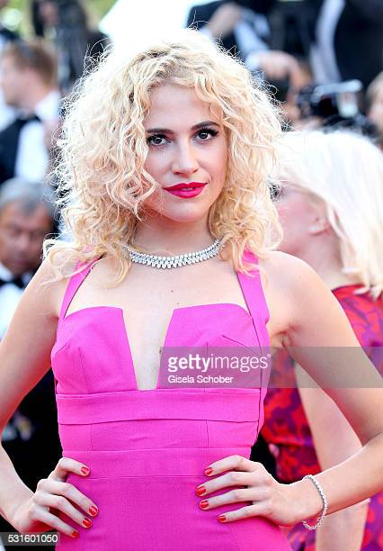 """Pixie Lott attends the """"From The Land Of The Moon """" premiere during the 69th annual Cannes Film Festival at the Palais des Festivals on May 15, 2016..."""