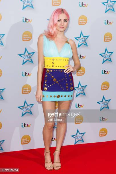 Pixie Lott attends the Good Morning Britain Health Star Awards at the Rosewood Hotel on April 24 2017 in London United Kingdom