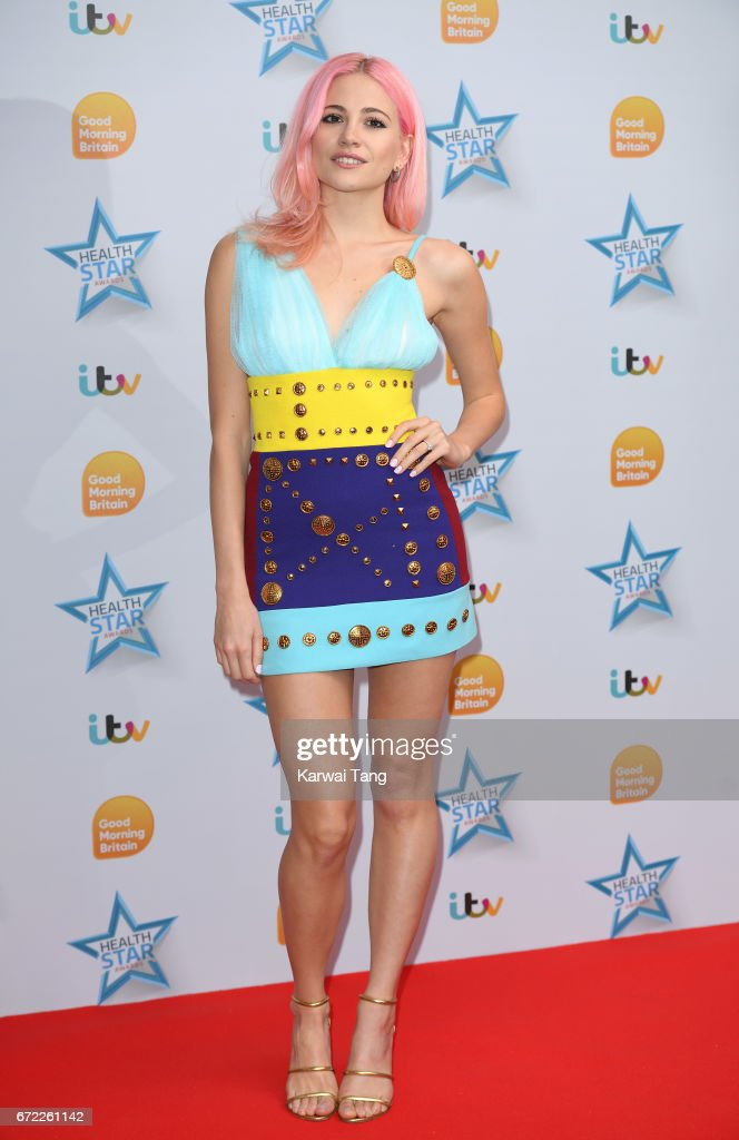 Pixie Lott attends the Good Morning Britain Health Star Awards at the Rosewood Hotel on April 24, 2017 in London, United Kingdom.