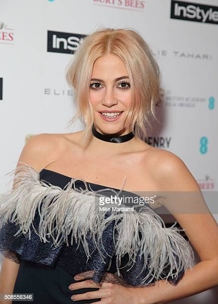 Pixie Lott attends the InStyle EE Rising Star PreBAFTA Party at 100 Wardour Street on February 4 2016 in London England