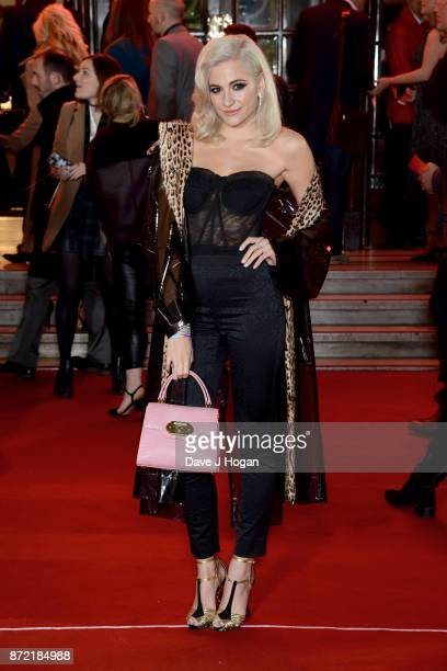 Pixie Lott attends the ITV Gala held at the London Palladium on November 9 2017 in London England