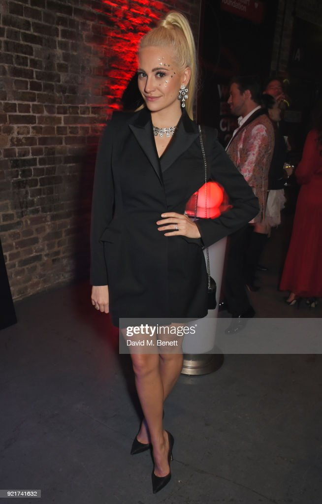 Pixie Lott attends the Naked Heart Foundation's Fabulous Fund Fair at The Roundhouse on February 20, 2018 in London, England.
