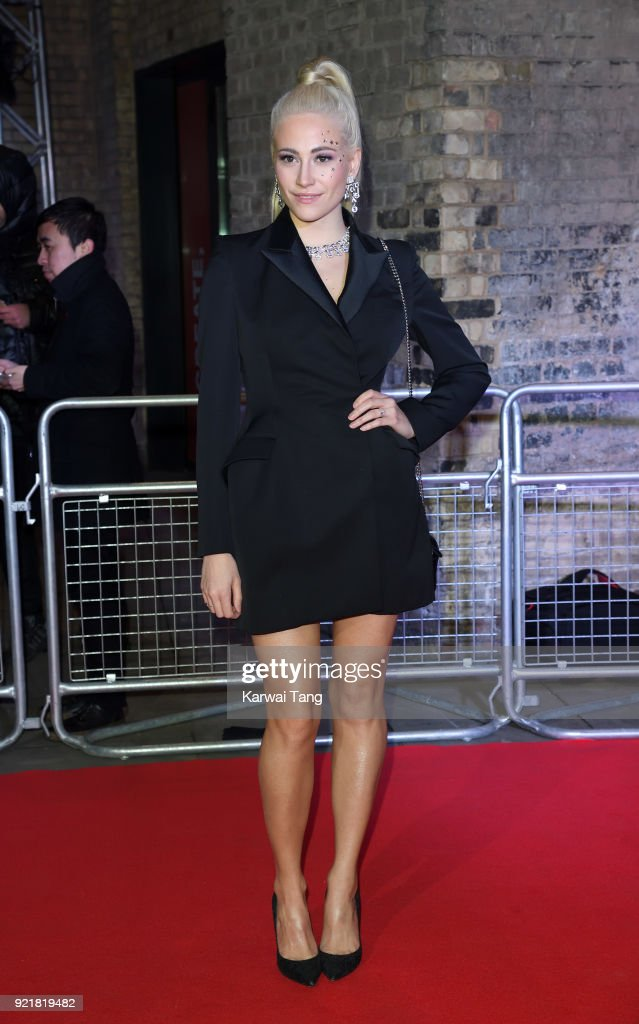 Pixie Lott attends the Naked Heart Foundation's Fabulous Fund Fair during London Fashion Week February 2018 at the Roundhouse on February 20, 2018 in London, England.