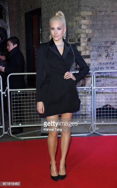 Pixie Lott attends the Naked Heart Foundation's Fabulous Fund Fair during London Fashion Week February 2018 at the Roundhouse on February 20 2018 in...