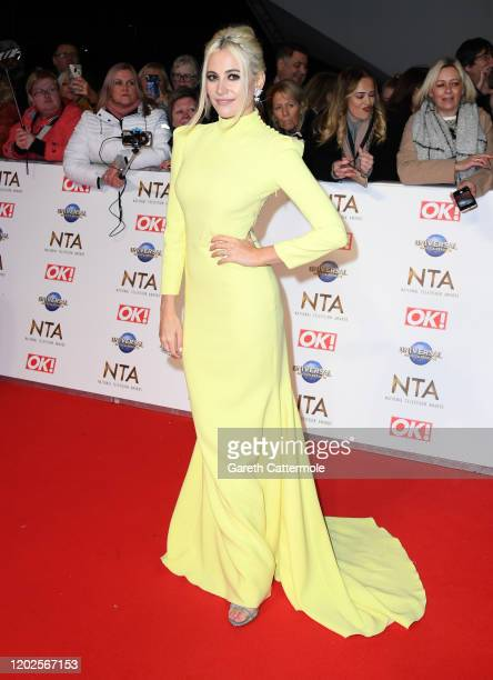 Pixie Lott attends the National Television Awards 2020 at The O2 Arena on January 28, 2020 in London, England.