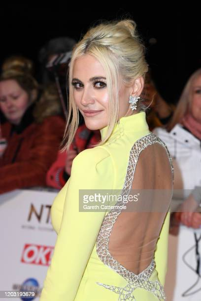 Pixie Lott attends the National Television Awards 2020 at The O2 Arena on January 28 2020 in London England