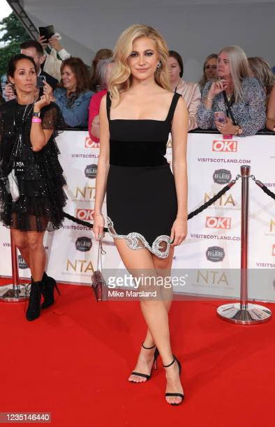 Pixie Lott attends the National Television Awards 2021 at The O2 Arena on September 9, 2021 in London, England.
