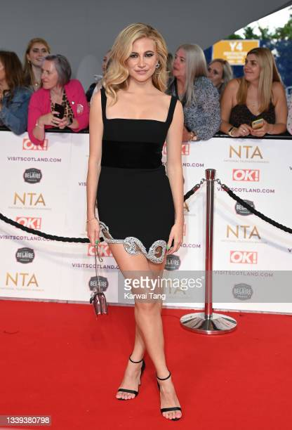 Pixie Lott attends the National Television Awards 2021 at The O2 Arena on September 09, 2021 in London, England.