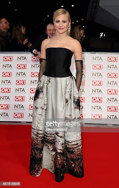 Pixie Lott attends the National Television Awards at 02 Arena on January 21 2015 in London England
