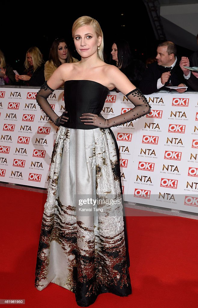 Pixie Lott attends the National Television Awards at 02 Arena on January 21, 2015 in London, England.