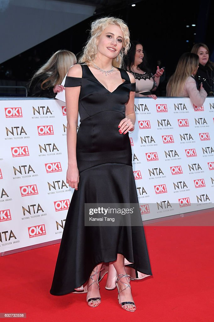 Pixie Lott attends the National Television Awards at The O2 Arena on January 25, 2017 in London, England.