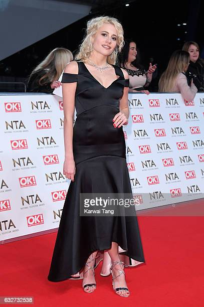 Pixie Lott attends the National Television Awards at The O2 Arena on January 25 2017 in London England