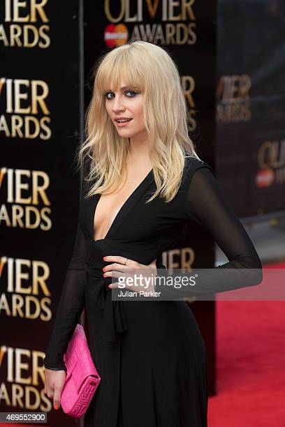 Pixie Lott attends The Olivier Awards at The Royal Opera House on April 12 2015 in London England