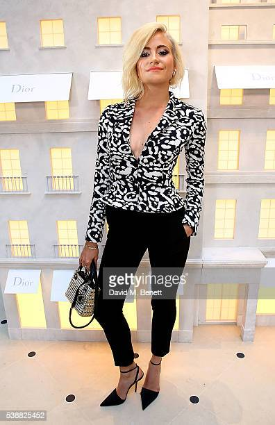 Pixie Lott attends the opening of the House Of Dior on New Bond Street on June 8 2016 in London England
