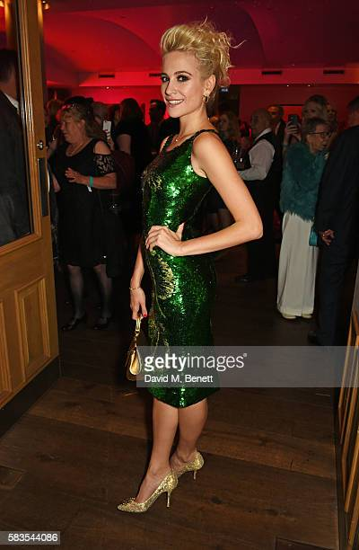 Pixie Lott attends the press night after party for 'Breakfast at Tiffany's' at the The Haymarket Hotel on July 26 2016 in London England