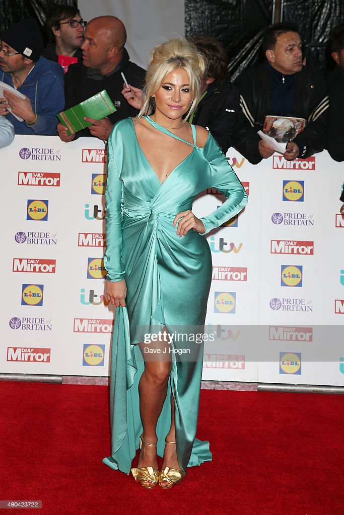 Pixie Lott attends the Pride of Britain awards at The Grosvenor House Hotel on September 28, 2015 in London, England.