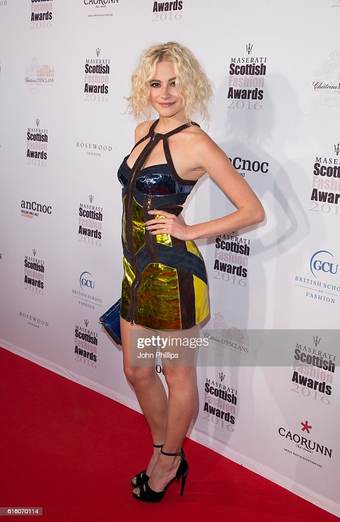 The Scottish Fashion Awards - Arrivals : News Photo