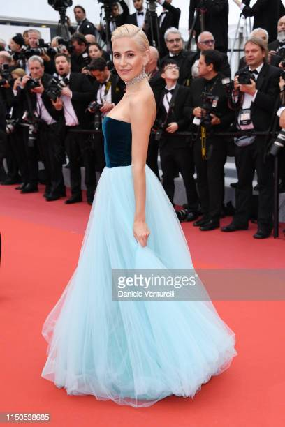 Pixie Lott attends the screening of La Belle Epoque during the 72nd annual Cannes Film Festival on May 20 2019 in Cannes France