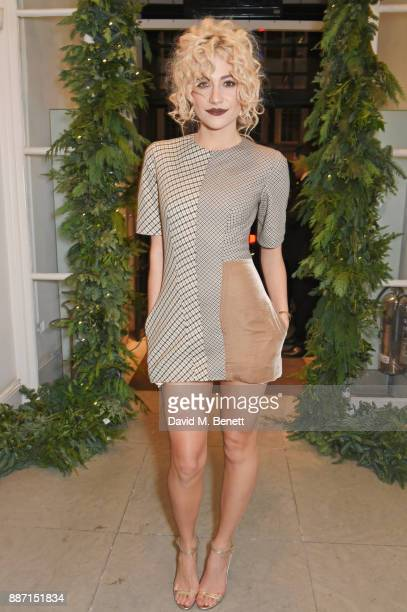 Pixie Lott attends the Stella McCartney Christmas Lights 2017 party on December 6 2017 in London England