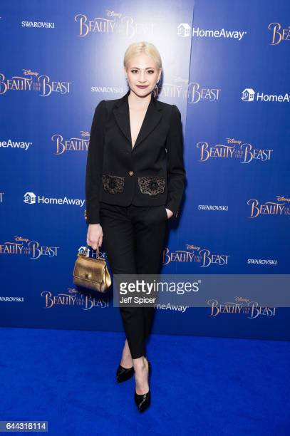 Pixie Lott attends the UK Premiere of 'Beauty And The Beast' at Odeon Leicester Square on February 23 2017 in London England