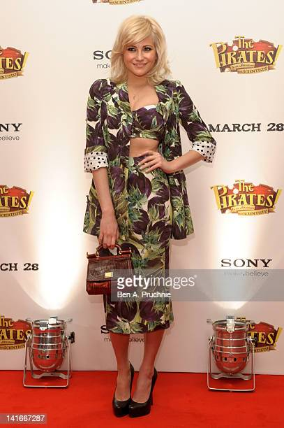 Pixie Lott attends the UK premiere of 'The Pirates In An Adventure With Scientists' at The Mayfair Hotel on March 21 2012 in London England