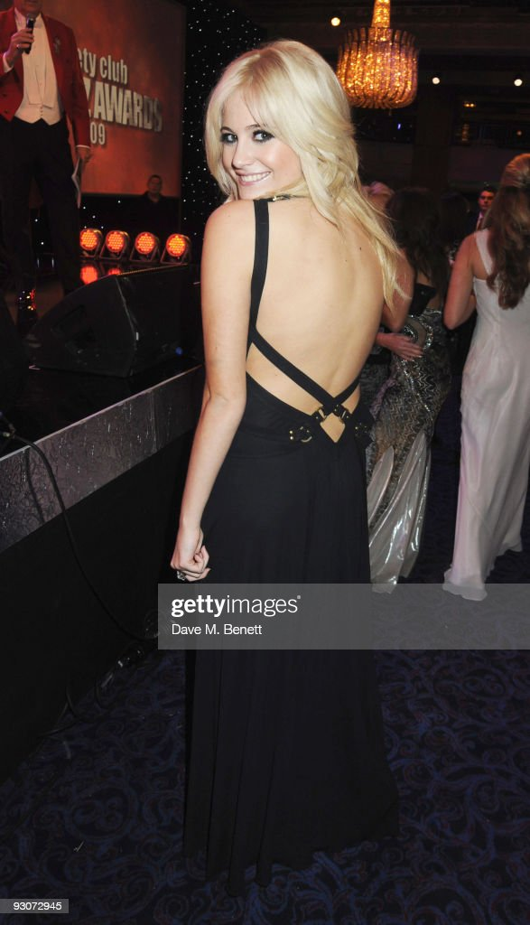 Pixie Lott attends the Variety Club Showbiz Awards, at the Grosvenor House, on November 15, 2009 in London, England.