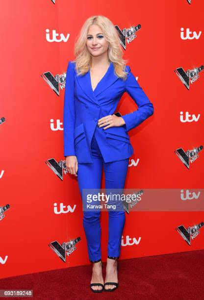 Pixie Lott attends the Voice Kids photocall at Madame Tussauds on June 6 2017 in London England