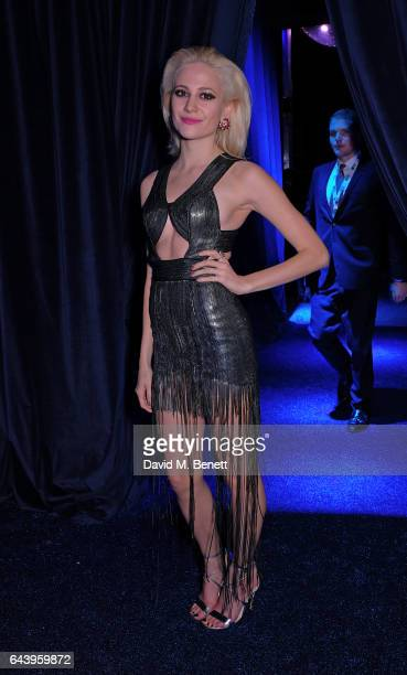 Pixie Lott attends The Warner Music Ciroc Brit Awards After Party on February 22 2017 in London England