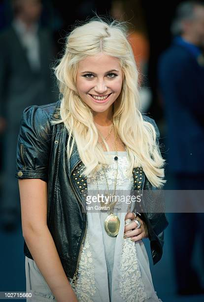 Pixie Lott attends the World film premiere for 'Inception' at the Odeon Leicester Square on July 8, 2010 in London, England.