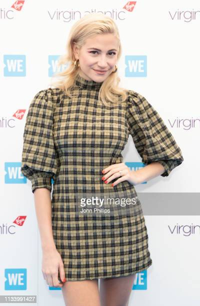 Pixie Lott during WE Day UK 2019 at The SSE Arena on March 06 2019 in London England