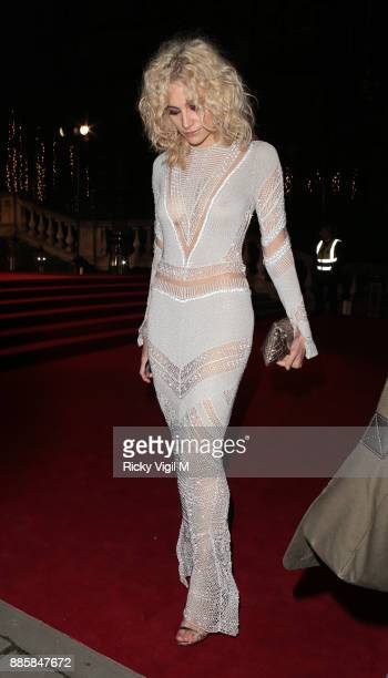 Pixie Lott seen leaving The Fashion Awards 2017 held at Royal Albert Hall on December 4 2017 in London England
