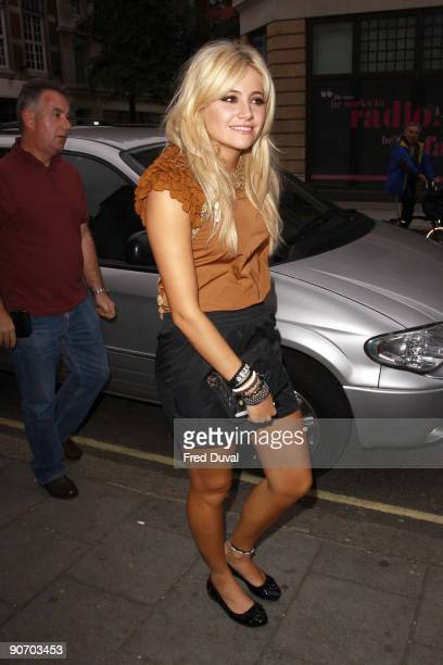 Pixie Lott sighting on September 13 2009 in London England
