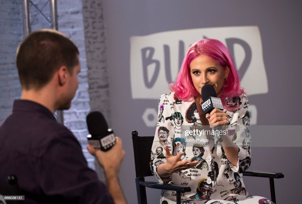 Pixie Lott speaks at the Build LDN event on April 13, 2017 in London, United Kingdom.