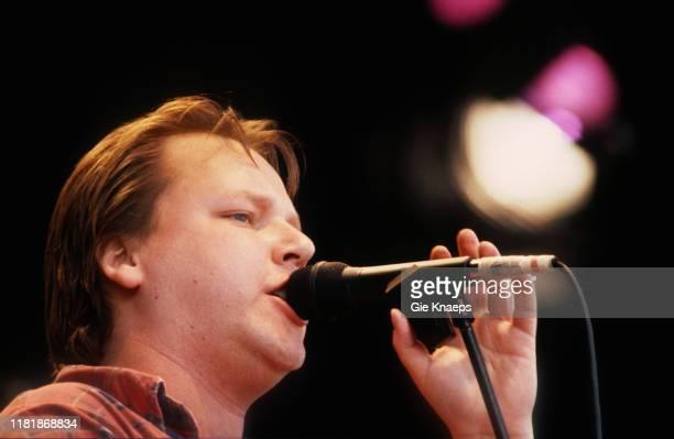 Pixies, Frank Black, Pinkpop Festival, Landgraaf, Netherlands, 15th May 1989.