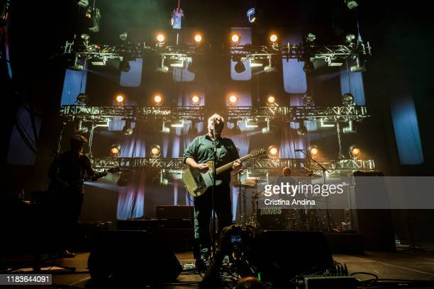 Pixies perform on stage at Coliseum A Coruña on October 26 2019 in A Coruna Spain