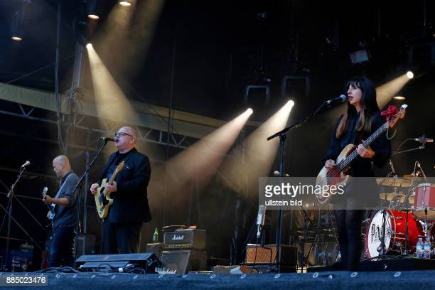 PIXIESRockband Independent USA performing on July 18 at Zitadelle Spandau Berlin Germany overview stage