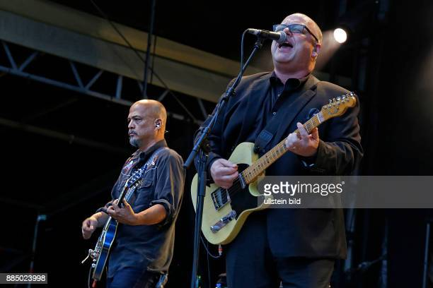 PIXIESRockband Independent USA performing on July 18 at Zitadelle Spandau Berlin Germany