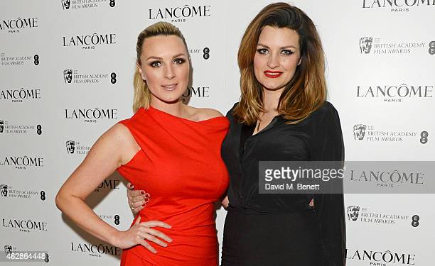 Pixiwoo attends the Lancome Loves Alma PreBAFTA party at Cafe Royal on February 6 2015 in London England
