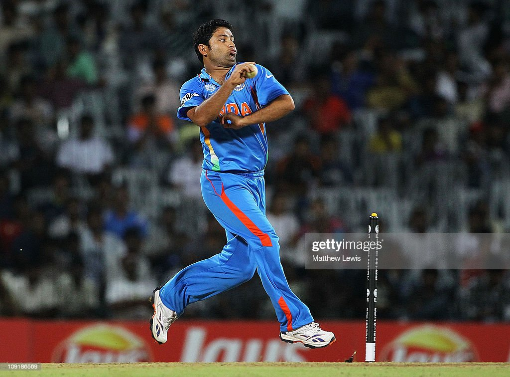 India v New Zealand - 2011 ICC World Cup Warm Up Game : News Photo