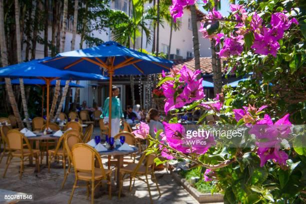 Pizza al Fresco in Via Mizner Worth Avenue in Palm Beach is one of the premier upscale shopping streets in the world Distinguishing Worth Avenue are...