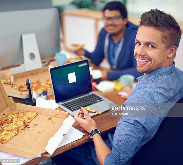 Pizza und Design gehen hand in hand