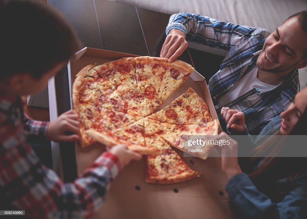 Pizza at home : Stock Photo