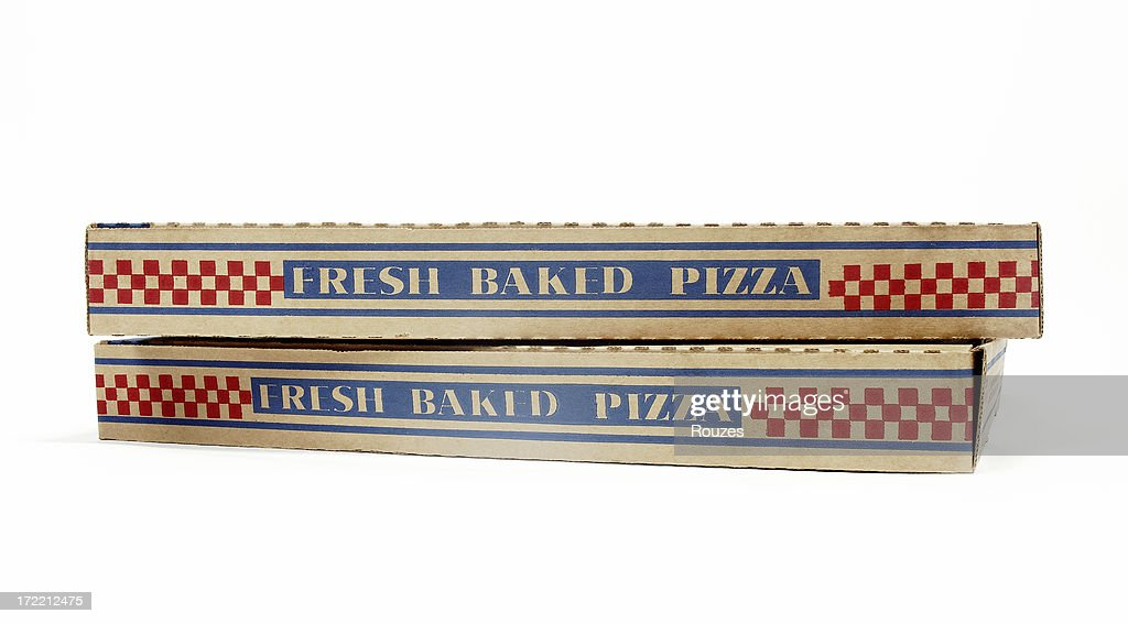 Pizza Boxes : Stock Photo