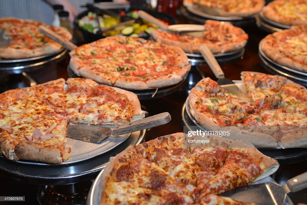 Pizza Buffet : Stock Photo