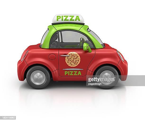 pizza car
