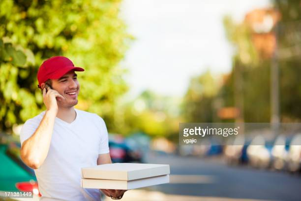 Pizza Delivery Person.