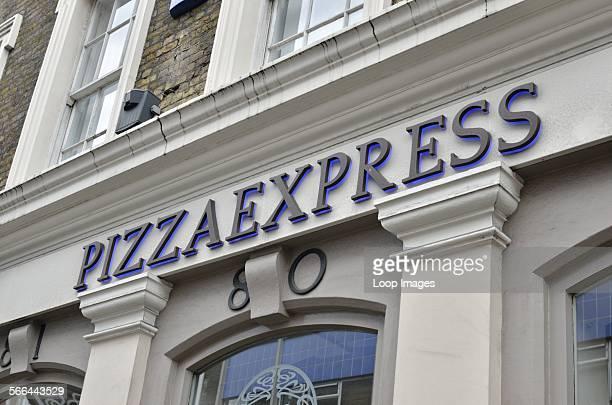Pizza Express restaurant in St Martins Lane