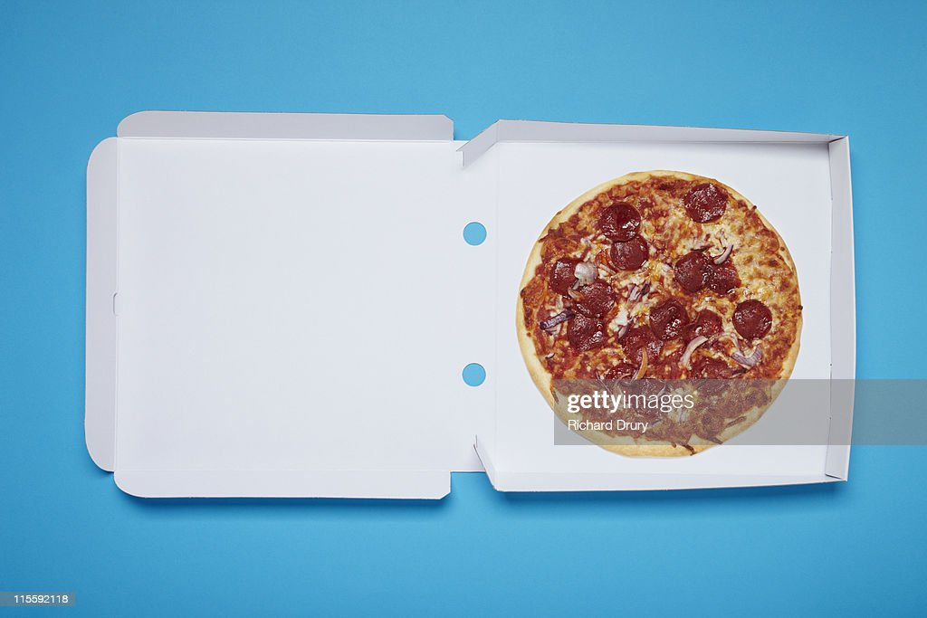 Pizza in box : Stock Photo