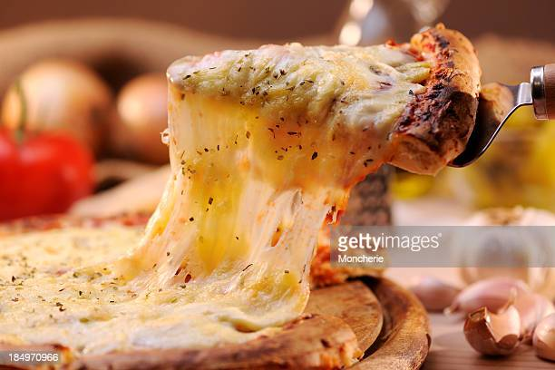 pizza margharita - cheese stock pictures, royalty-free photos & images